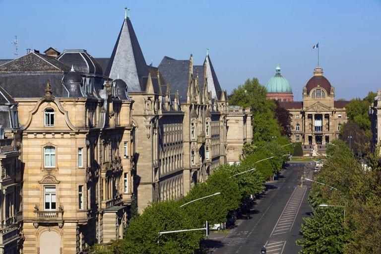 03 Avenue De La Liberte Et Palais Du Rhin Christophe Hamm 76