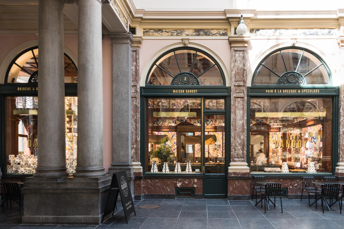 Maison Dandoy Boutique Galerie Du Roi