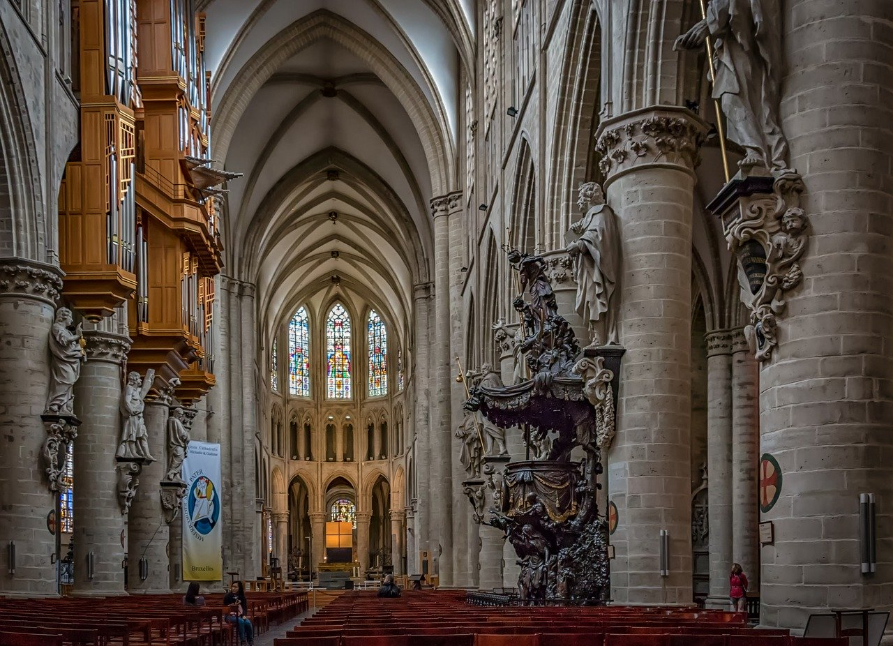 Cathedrale Bruxelles (2)